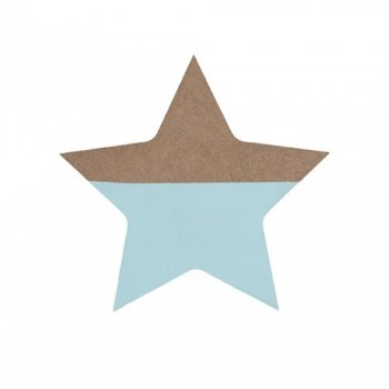 Mint wooden star