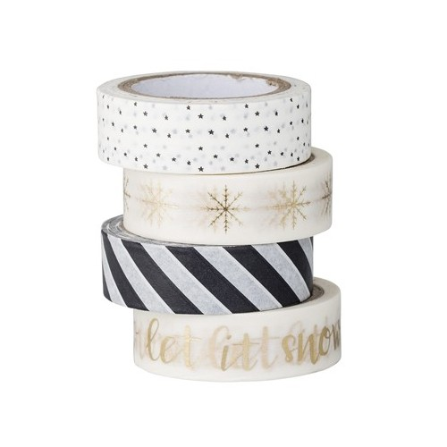 Washi tape, set 4 u.