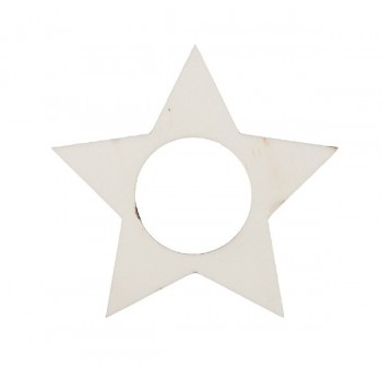 Xmas napkin holder, star