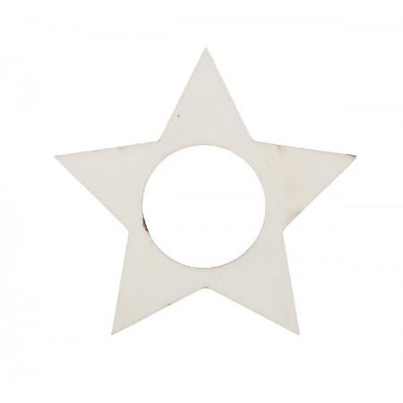 Xmas napkin holder, star