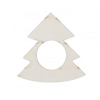 Servilletero Navidad, árbol.