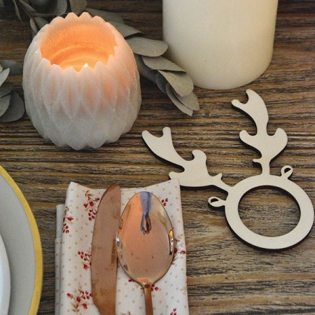Xmas napkin holder, reindeer