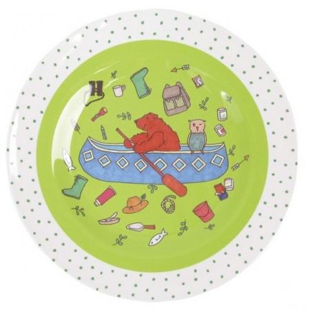 Plato para niños Oso