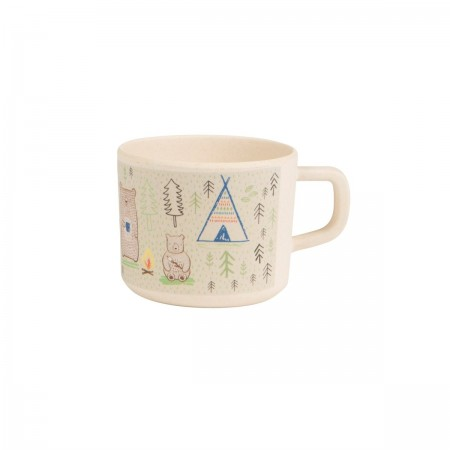 Taza estampada, Ositos