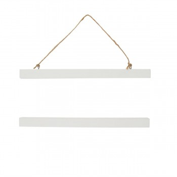White Print Hanger (Medium)
