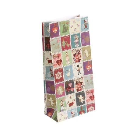 Bolsa papel  de Navidad  21cm