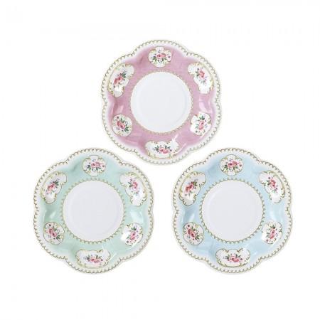 Chintz Extra Small Paper Plates (12u.)