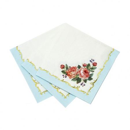 Servilletas de papel pequeñas Chintz (16u.)