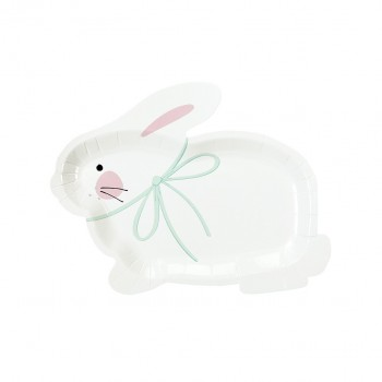 Bunny Shaped Plate (8u.)