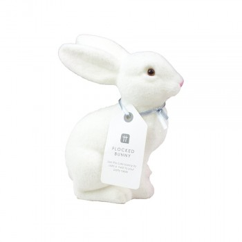 White Bunny Decoration
