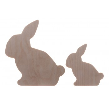 Easter Rabbits 1. Set of 2