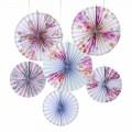 Truly Romantic Pinwheel Decorations (6u.)