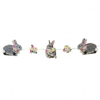 Truly Bunny Bunting