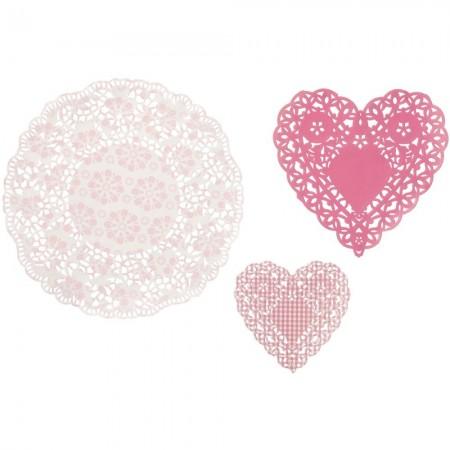 Pink N Mix Doily  (30u.)
