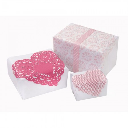 Blondas de papel Romantic (30u.)