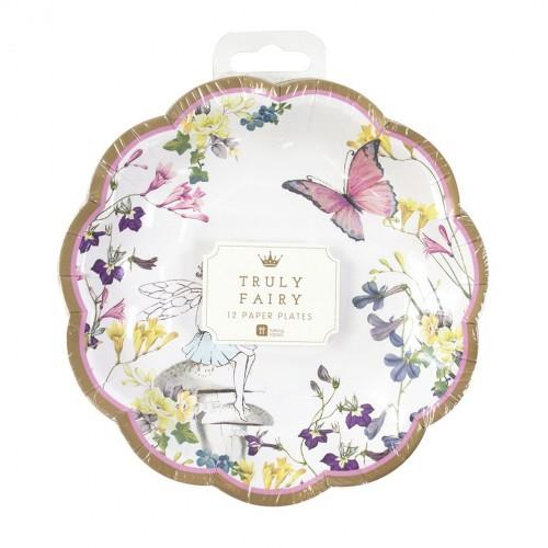 Truly Fairy Scallop Edge Plates (12u.)