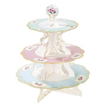 Truly Chintz Cakestand