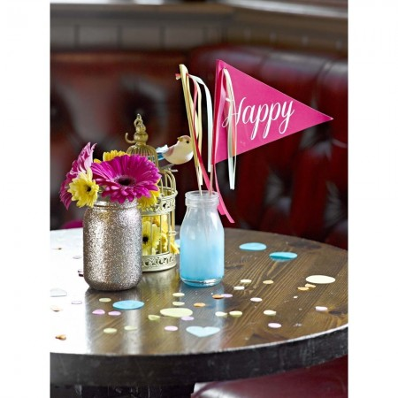 Confeti de colores Happy