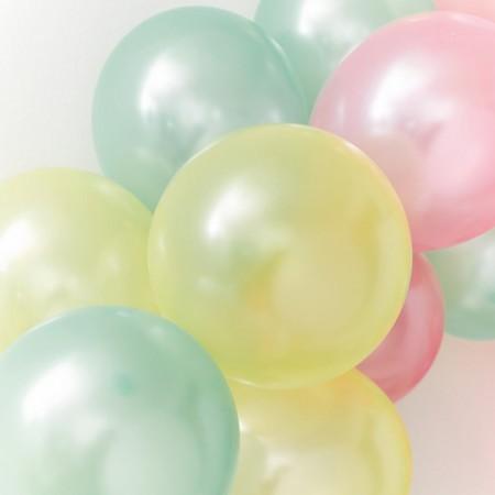 Globos fiesta colores (16 u.)