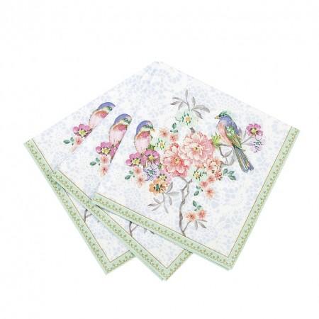 Servilletas de papel  pequeñas Romantic (20u.)