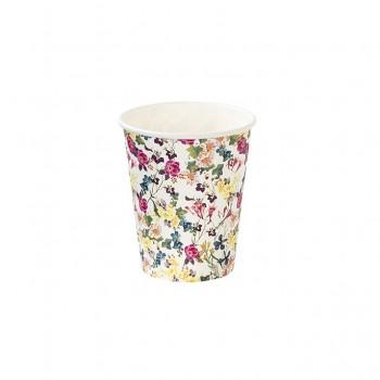 Vasos de papel flores Bunny (12 u.)
