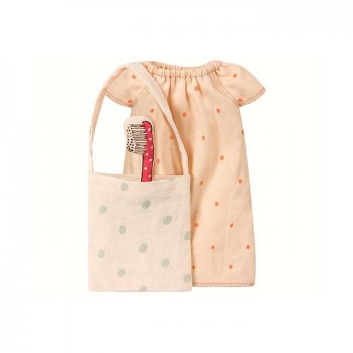 Pijama para ratoncita, con cepilllo dientes ( Medium )