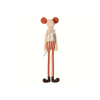 Circus stilt clown, Maxi mouse