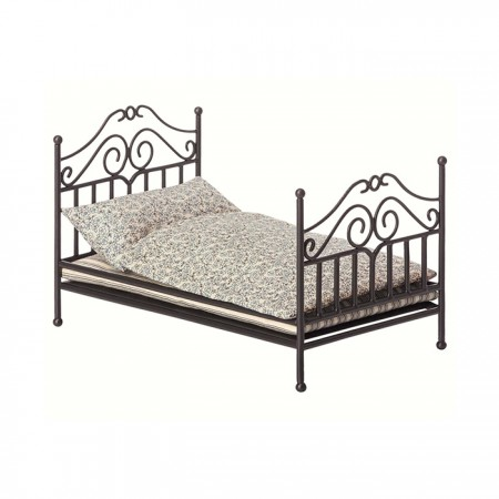 Vintage bed Anthracite (Micro)
