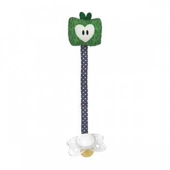 Apple green soother holder