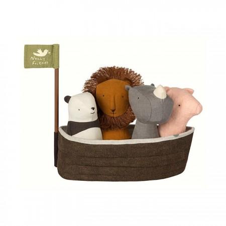 Arca de Noé con 4 sonajeros